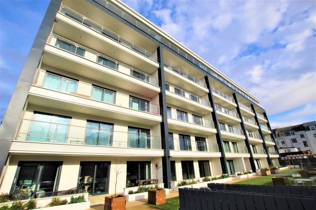 Thumbnail Flat for sale in Peirson House, The Hoe, Plymouth, Devon