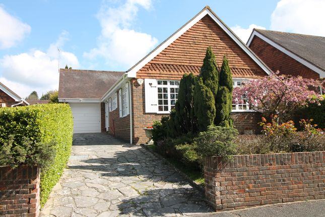 Thumbnail Detached bungalow for sale in The Chase, Findon Village