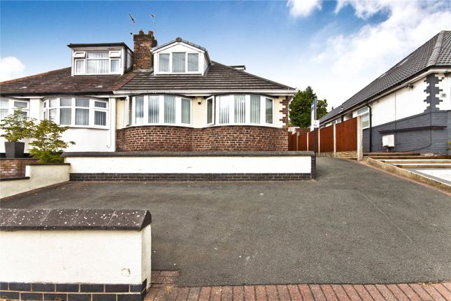 Thumbnail Semi-detached bungalow for sale in Grangeside, Liverpool, Merseyside