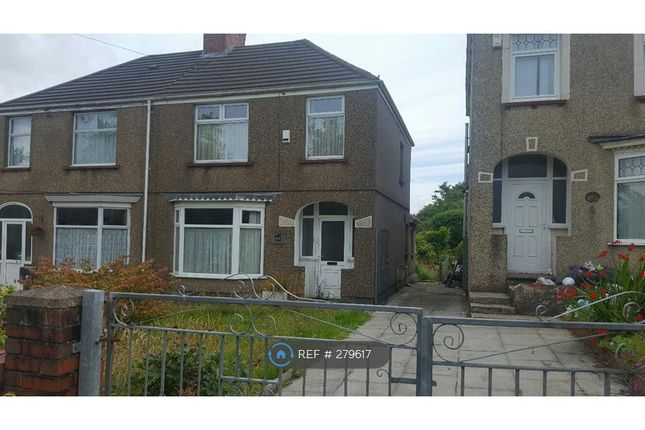 Thumbnail Semi-detached house to rent in Cockett Road, Swansea