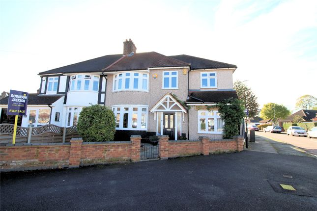 Thumbnail Semi-detached house for sale in Belmont Road, Northumberland Heath, Kent