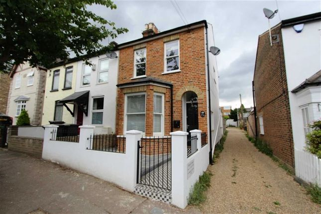Thumbnail End terrace house to rent in Princes Road, Buckhurst Hill, Essex