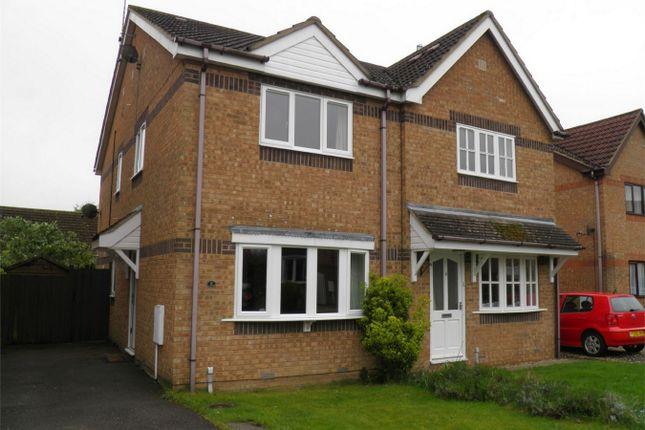 Thumbnail Semi-detached house to rent in Aveland Close, Bourne, Lincolnshire