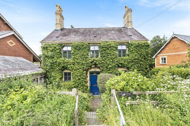Thumbnail Detached house for sale in Llanbister Road, Llandrindod Wells