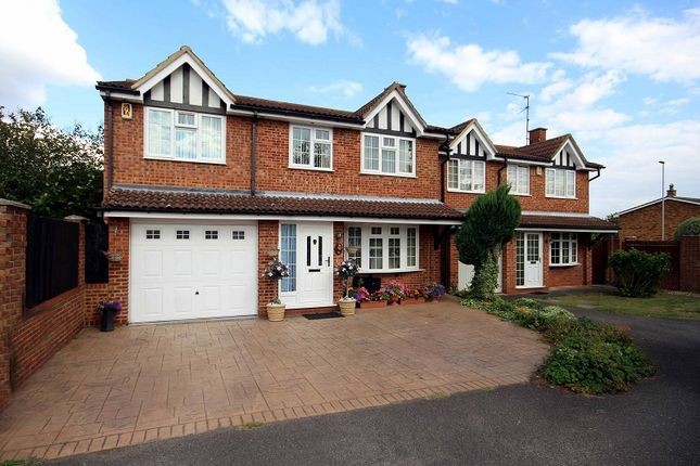 Thumbnail Detached house for sale in Denby Dale, Wellingborough, Northamptonshire.
