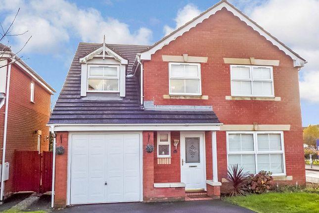 Thumbnail Detached house for sale in Llys Bronwydd, Broadlands, Bridgend .