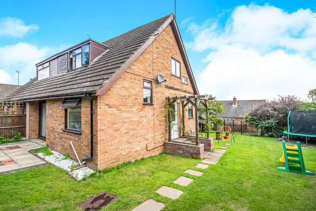 Thumbnail Semi-detached bungalow for sale in Breydon Drive, Costessey, Norwich