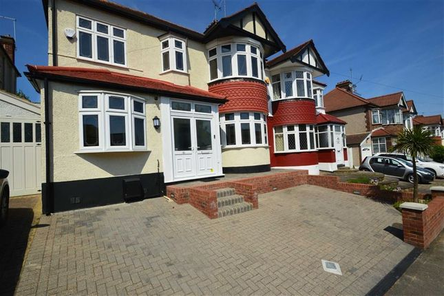 Thumbnail Semi-detached house for sale in Hillington Gardens, Woodford Green, Essex