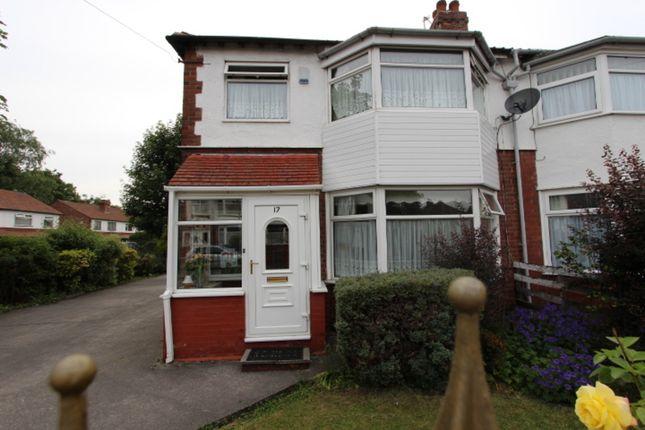 Thumbnail Semi-detached house to rent in Abbotsford Road, Chorlton