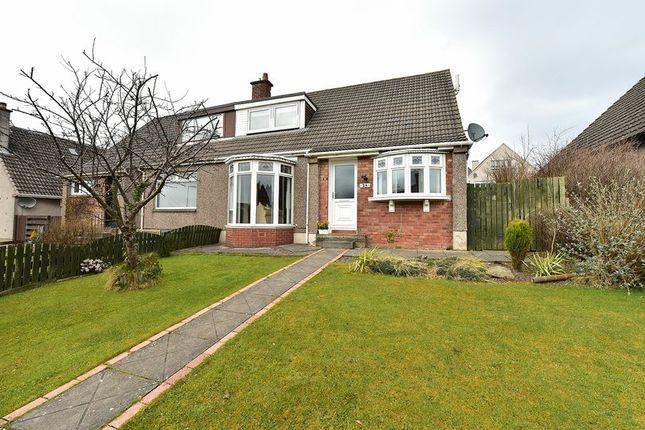 Thumbnail Semi-detached house for sale in Napier Avenue, Bathgate