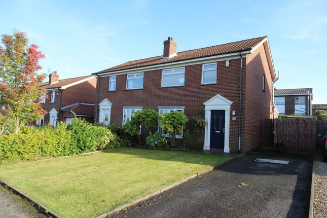 Thumbnail Semi-detached house for sale in Towerview Crescent, Groomsport, Bangor