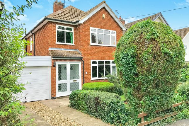 Thumbnail Detached house for sale in Court Close, Kirby Muxloe, Leicester