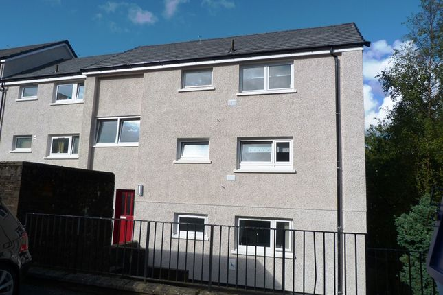 Thumbnail Flat for sale in Shaw Place, Greenock