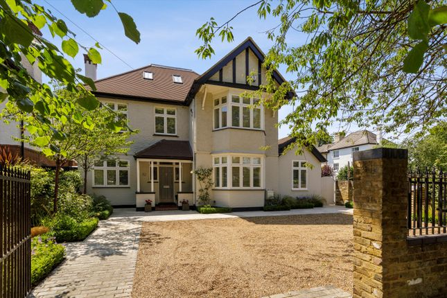 Thumbnail Detached house for sale in Wolsey Road, East Molesey, Surrey KT8.