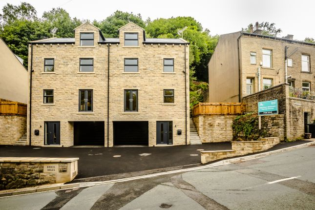 4 bed semi-detached house for sale in 1 Brock Holes, Heptontall Road, Hebden Bridge HX7