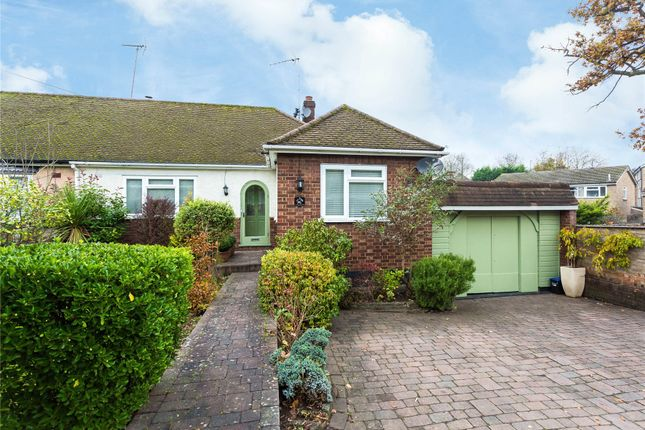 Thumbnail Semi-detached bungalow for sale in Hanging Hill Lane, Hutton, Brentwood, Essex
