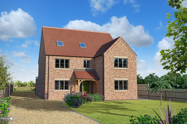 Thumbnail Detached house for sale in Holborns Site, Main Road, Gedney Drove End, Spalding