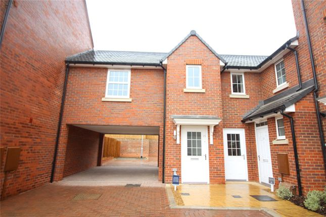 Thumbnail 1 bed mews house to rent in Raven Close, Castle Hill, Ebbsfleet Valley, Swanscombe