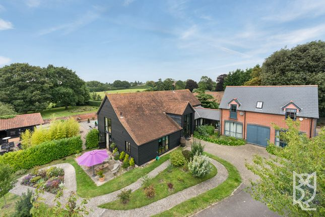 Thumbnail Detached house for sale in West Bergholt, Colchester Road, Colchester