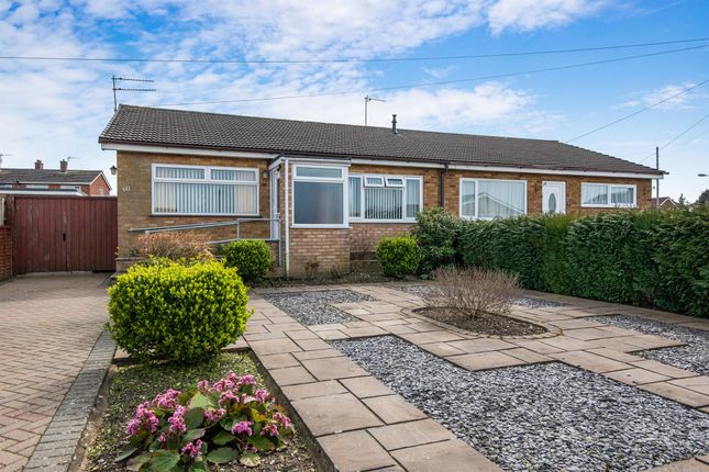 Thumbnail Semi-detached bungalow for sale in Peregrine Road, Sprowston, Norwich
