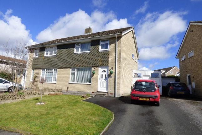 Thumbnail Semi-detached house for sale in Yeomans Way, Plympton, Plymouth