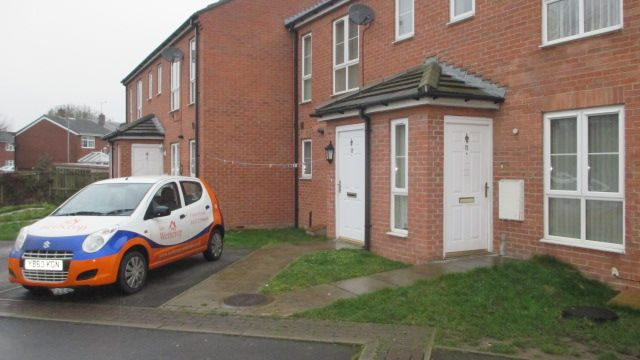 Thumbnail Town house to rent in Crofters Court, Havercroft, Wakefield