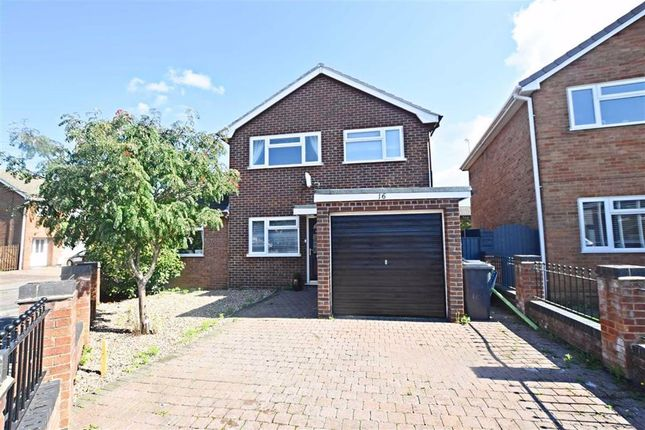 Thumbnail Detached house for sale in Kimberley Close, Longlevens, Gloucester