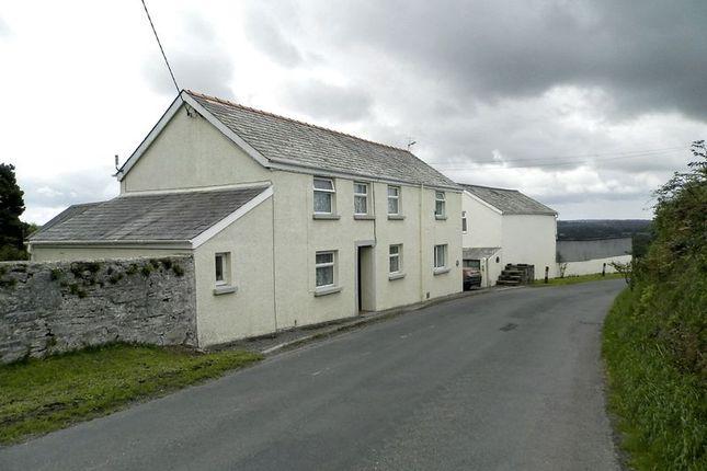 Thumbnail Detached house for sale in Llanfallteg, Whitland