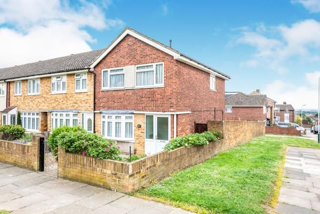 Thumbnail End terrace house for sale in Collier Row, Romford, Havering