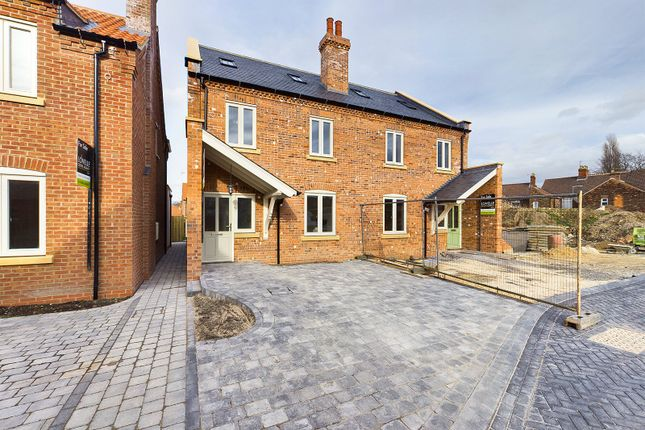 4 bed semi-detached house for sale in Coach Well Gardens, High Street, Barton-Upon-Humber, North Lincolnshire DN18