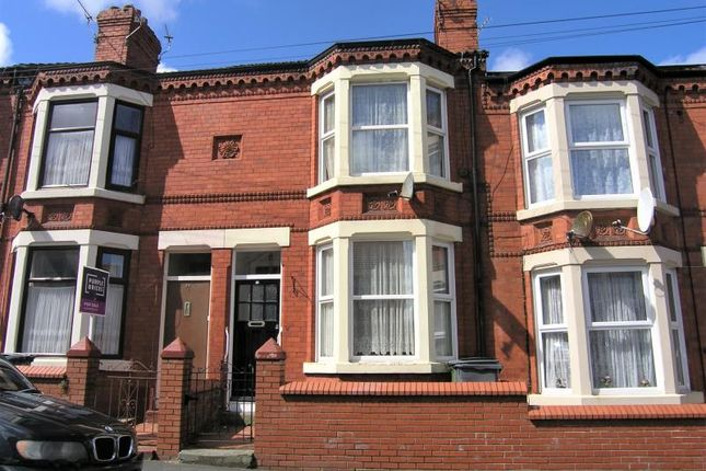 Thumbnail Terraced house to rent in Duke Street, Wallasey, Wirral