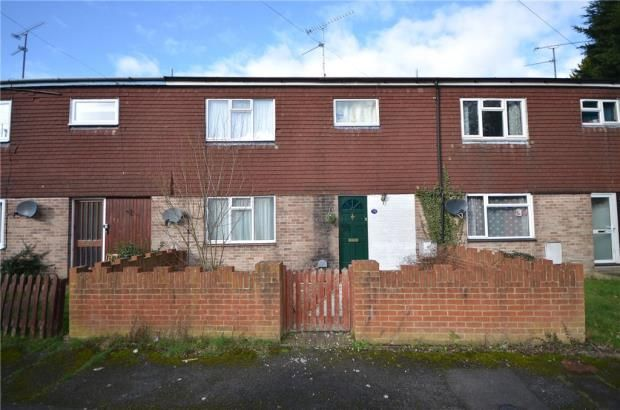 Thumbnail Terraced house for sale in Hearsey Gardens, Blackwater, Camberley