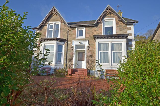 Thumbnail Flat for sale in Shore Road, Innellan, Dunoon, Argyll