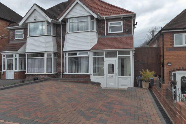 Thumbnail Semi-detached house for sale in Farren Road, Birmingham