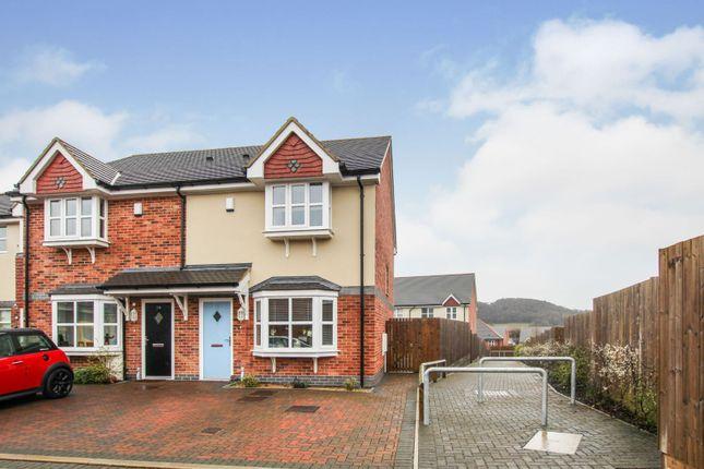 Thumbnail End terrace house for sale in Lon Parciau, Llandudno Junction