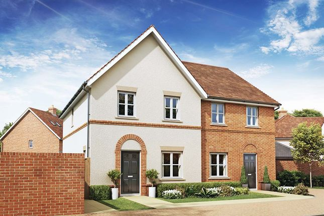 Thumbnail Semi-detached house for sale in Old Wokingham Road, Crowthorne, Berkshire