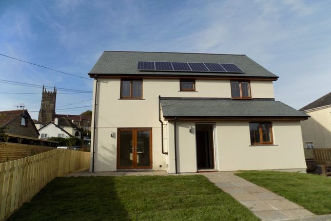 Thumbnail Detached house to rent in Exeter Road, Winkleigh