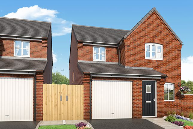 """Thumbnail Detached house for sale in """"The Fern"""" at Mansfield Road, Tibshelf, Alfreton"""