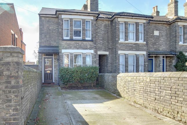 Thumbnail End terrace house for sale in Old Heath Road, Colchester