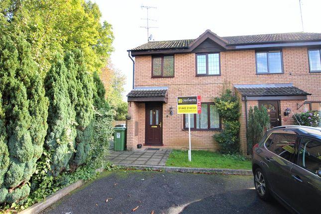 Thumbnail Semi-detached house to rent in Crackley Meadow, Hemel Hempstead