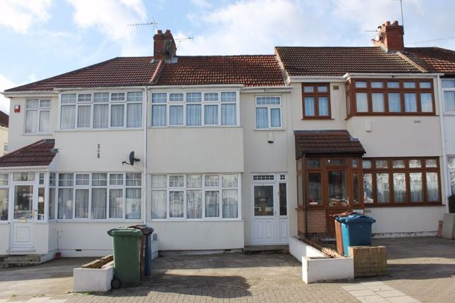 Thumbnail Terraced house to rent in Cotman Gardens, Edgware