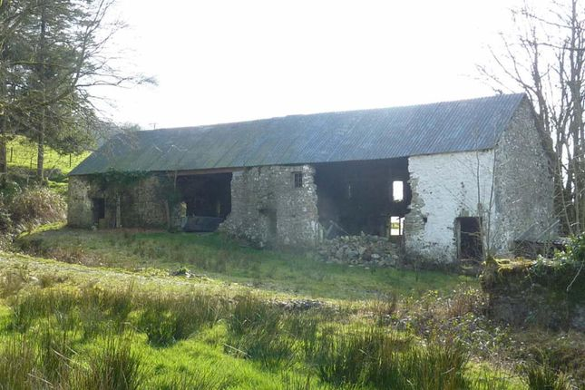 Thumbnail Barn conversion for sale in Abergorlech, Carmarthen