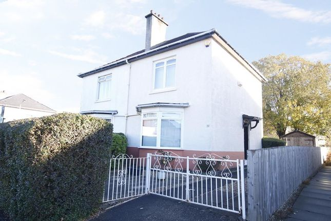 Thumbnail Semi-detached house for sale in 22 Polnoon Avenue, Knightswood, Glasgow