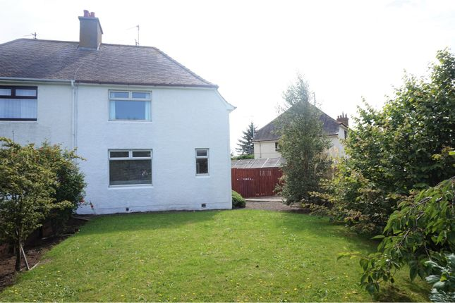 Thumbnail Semi-detached house for sale in Logan Drive, Troon