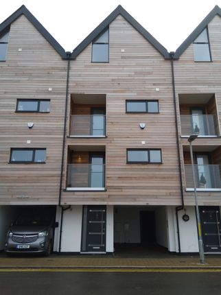 Thumbnail Town house to rent in Bayside, Fishermans Beach, Range Road, Hythe Kent