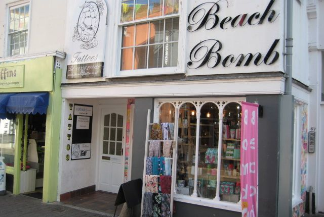 Thumbnail Retail premises for sale in Church Street, Falmouth, Cornwall