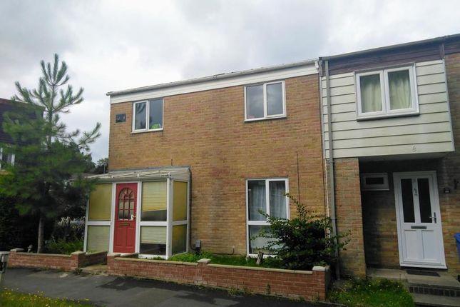 Thumbnail End terrace house to rent in Evedon, Bracknell