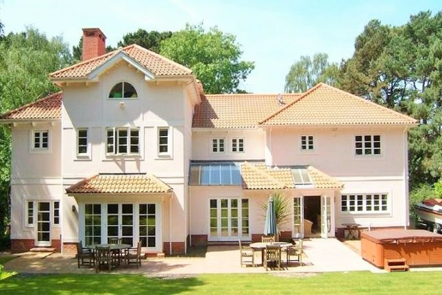 Thumbnail Detached house for sale in 39/41 Canford Cliffs Road, Poole
