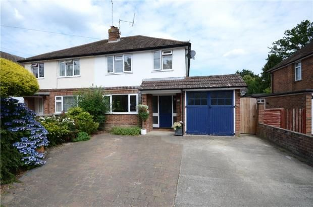 Thumbnail Semi-detached house for sale in Albion Road, Sandhurst, Berkshire