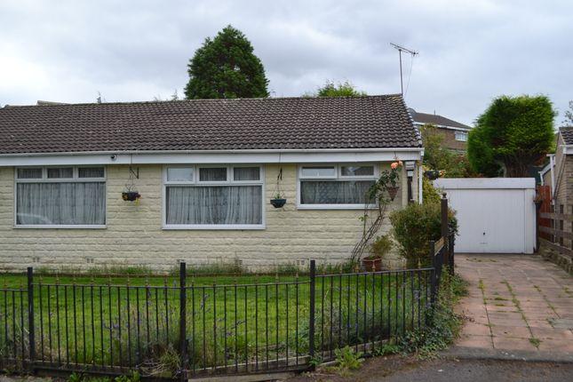 Thumbnail Semi-detached bungalow to rent in Glenrose Drive, Lidget Green, Bradford